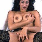 bangalore sex chat model squeezing boobs and fingering pussy
